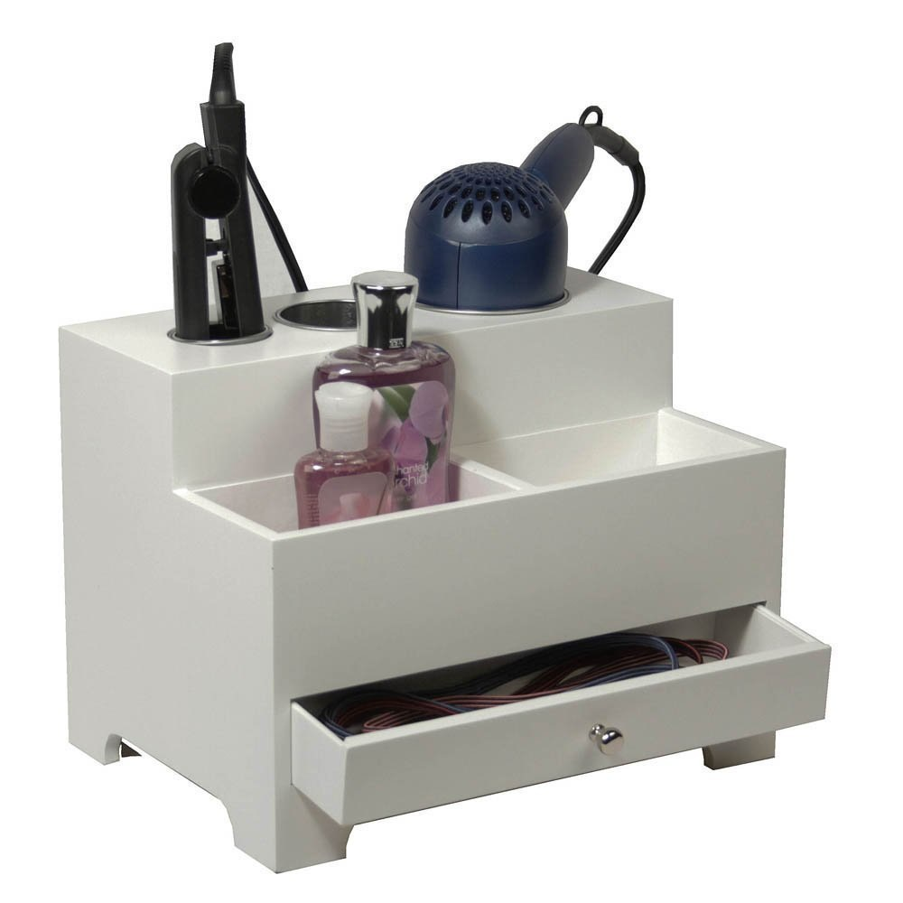 Hair Care Countertop Storage